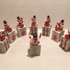 Coleccionismo de Coca-Cola y Pepsi: COLECCION 8 MUSICOS COCA COLA. Lote 245485350