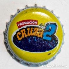 Coleccionismo de Coca-Cola y Pepsi: TAPÓN CORONA - CHAPA - REPÚBLICA DOMINICANA -PROMOCIÓN CRUZA2 -GRACIAS INTÉNTALO DE NUEVO (INTERIOR). Lote 245900955