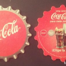 Coleccionismo de Coca-Cola y Pepsi: POSAVASOS DE COCA-COLA. Lote 246050375