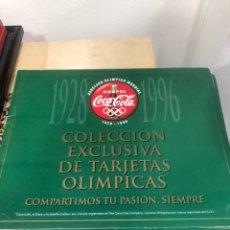 Coleccionismo de Coca-Cola y Pepsi: ÁLBUM CON TARJETAS DE COCA COLA. Lote 247310120