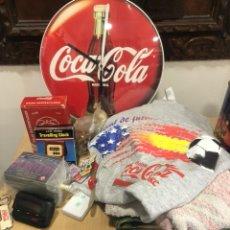 Coleccionismo de Coca-Cola y Pepsi: GRAN LOTE ARTÍCULOS DE COCA COLA. Lote 247311970