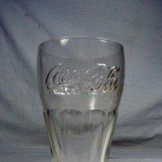Coleccionismo de Coca-Cola y Pepsi: ANTIGUO VASO DE COCA COLA EN VIDRIO. MARCA EN LA BASE: BRF. Lote 248421710