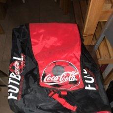 Coleccionismo de Coca-Cola y Pepsi: LOTE DE MOCHILAS Y BANDOLERAS DE COCA COLA. Lote 248704110