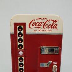 Collezionismo di Coca-Cola e Pepsi: ANTIGUA HUCHA DE METAL MUY PESADA Y ROBUSTA COCA COLA 1995. Lote 252939705