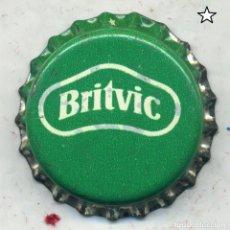 Coleccionismo de Coca-Cola y Pepsi: CHAPA BRITVIC - MALTA XAPA KRONKORKEN TAPPI BOTTLE CAP CAPSULE. Lote 253907550