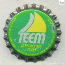 Coleccionismo de Coca-Cola y Pepsi: CHAPA TEEM - USA XAPA KRONKORKEN TAPPI BOTTLE CAP CAPSULE. Lote 253908555
