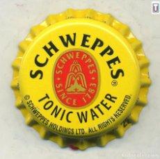Coleccionismo de Coca-Cola y Pepsi: CHAPA SCHWEPPES - GAMBIA XAPA KRONKORKEN TAPPI BOTTLE CAP CAPSULE. Lote 253909000