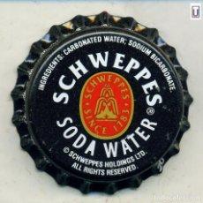 Coleccionismo de Coca-Cola y Pepsi: CHAPA SCHWEPPES - GHANA XAPA KRONKORKEN TAPPI BOTTLE CAP CAPSULE. Lote 253909190