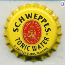 Coleccionismo de Coca-Cola y Pepsi: CHAPA SCHWEPPES - GUINEA XAPA KRONKORKEN TAPPI BOTTLE CAP CAPSULE. Lote 253909325