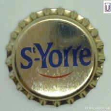 Coleccionismo de Coca-Cola y Pepsi: CHAPA AGUA S. YORRE - FRANCIA XAPA KRONKORKEN TAPPI BOTTLE CAP CAPSULE. Lote 253909895