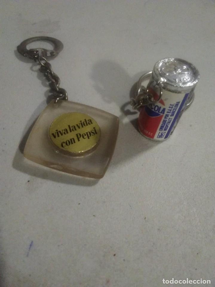 Coleccionismo de Coca-Cola y Pepsi: 2 Llaveros coleccion Pepsi cola - Foto 2 - 253965980