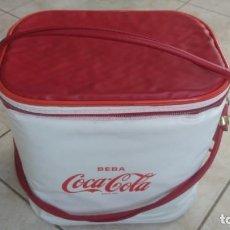 Coleccionismo de Coca-Cola y Pepsi: NEVARA PORTÁTIL ANTIGUA DE COCA-COLA COCACOLA. Lote 254067030