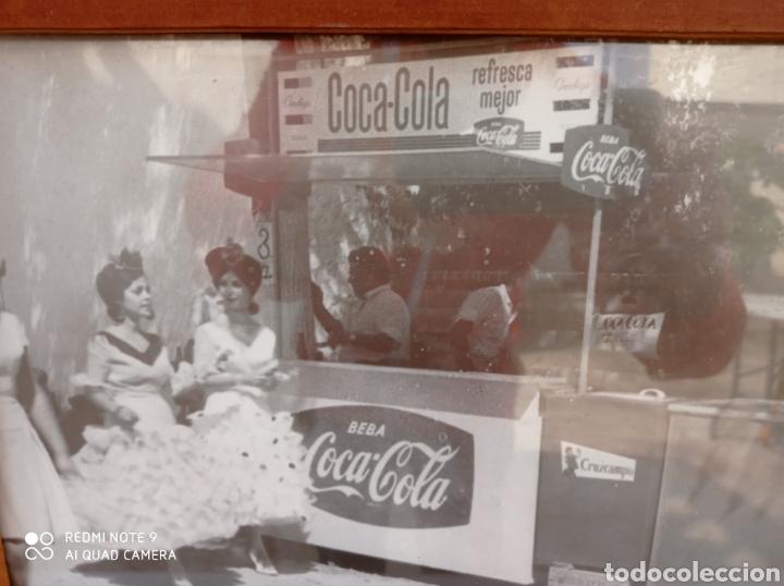 Coleccionismo de Coca-Cola y Pepsi: CUADRO COCA COLA KIOSKO ANTIGUO - Foto 2 - 254143660