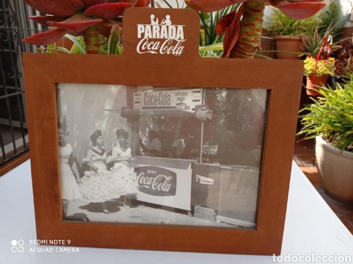 CUADRO COCA COLA KIOSKO ANTIGUO (Coleccionismo - Botellas y Bebidas - Coca-Cola y Pepsi)