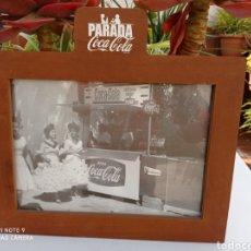 Coleccionismo de Coca-Cola y Pepsi: CUADRO COCA COLA KIOSKO ANTIGUO. Lote 254143660