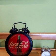 Coleccionismo de Coca-Cola y Pepsi: RELOJ DESPERTADOR COCA -COLA AÑOS 70-80. Lote 254987875