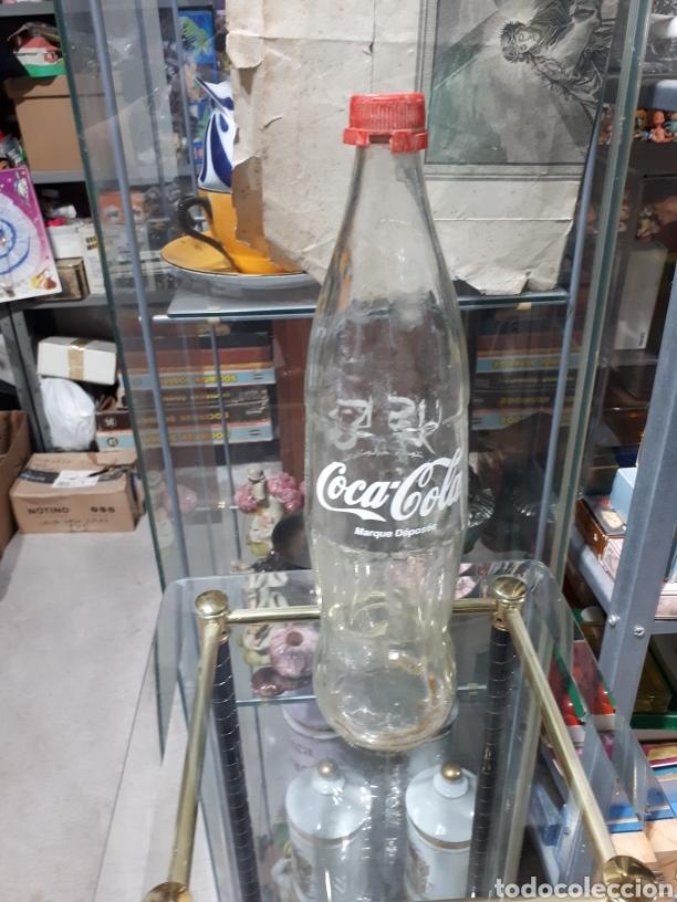 ANTIGUA BOTELLA DE COCACOLA DE MARRUECOS 1 LITRO VACIA (Coleccionismo - Botellas y Bebidas - Coca-Cola y Pepsi)