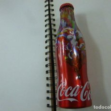 Coleccionismo de Coca-Cola y Pepsi: COCA-COLA MCMENU GIFT ALUMINUM BOTTLE HUNGARY 2015 -LLENA -N. Lote 258897735