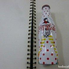 Coleccionismo de Coca-Cola y Pepsi: BOTELLA COCA COLA LIGHT ALUMINIO - EDICIÓN LIMITADA - MARC JACOBS - LLENA. Lote 258922625