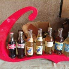 Coleccionismo de Coca-Cola y Pepsi: MOSTRADOR COCA COLA BOTELLAS. Lote 258984005