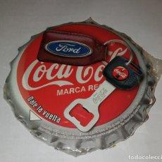 Coleccionismo de Coca-Cola y Pepsi: PAQUETE DE POSAVASOS DE COCA COLA - SORTEO FORD. AÑO 1998. EN SU BLISTER, SIN ABRIR.. Lote 261685155