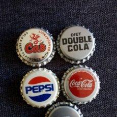 Coleccionismo de Coca-Cola y Pepsi: CHAPAS COCA-COLA PEPSI. Lote 261832060