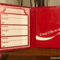 Coleccionismo de Coca-Cola y Pepsi: MINI LIBRETA AGENDA COCA-COLA. AÑOS 80S. Lote 261995265