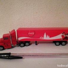 Coleccionismo de Coca-Cola y Pepsi: CAMION CON REMOLQUE NAVIDAD - COCA COLA. Lote 262015450