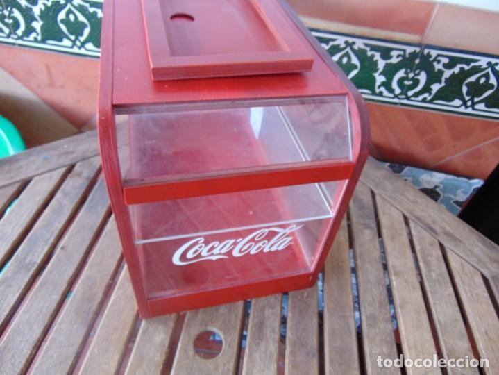 Coleccionismo de Coca-Cola y Pepsi: VITRINA , EXPOSITORA , EXPOSITOR DE COCA COLA, PUBLICIDAD MADERA Y METACRILATO - Foto 6 - 263731585