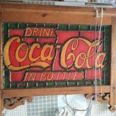 Coleccionismo de Coca-Cola y Pepsi: CARTEL DRINK COCA-COLA IN BOTTLES. Lote 266513418