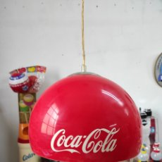 Coleccionismo de Coca-Cola y Pepsi: LÁMPARA PUBLICITARIA DE COCA-COLA DE 29 CM DE DIÁMETRO. Lote 267071819