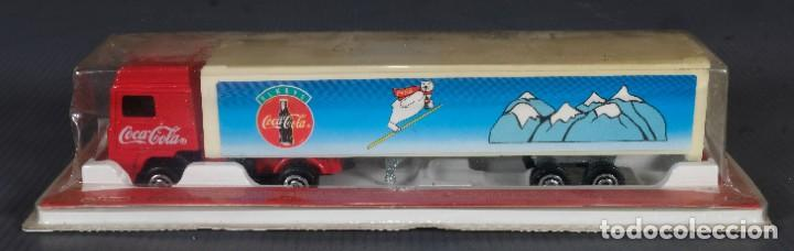 CAMIÓN DE COCA COLA 1995 - EN SU ENVOLTORIO (Coleccionismo - Botellas y Bebidas - Coca-Cola y Pepsi)