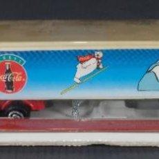 Coleccionismo de Coca-Cola y Pepsi: CAMIÓN DE COCA COLA 1995 - EN SU ENVOLTORIO. Lote 268455534