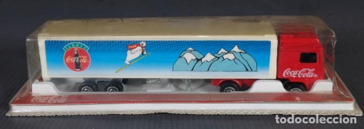 Coleccionismo de Coca-Cola y Pepsi: Camión de Coca Cola 1995 - en su envoltorio - Foto 2 - 268455534