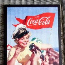 Coleccionismo de Coca-Cola y Pepsi: CUADRO MADERA COCA COLA. COCACOLA. PROMOCIÓN EXCLUSIVA.. Lote 269302408