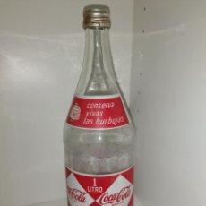 Coleccionismo de Coca-Cola y Pepsi: ANTIGUA BOTELLA DE COCA COLA ROMBOS O DIAMANTE.. Lote 269409898
