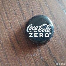 Coleccionismo de Coca-Cola y Pepsi: CHAPA TAPÓN CORONA DE COCA COLA ZERO.. Lote 274935963