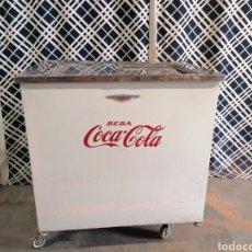 Coleccionismo de Coca-Cola y Pepsi: NEVERA COCA COLA. Lote 275070373