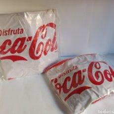 Coleccionismo de Coca-Cola y Pepsi: 2 BALONES COCA-COLA PARA LA PLAYA TAMAÑO GRANDE. Lote 276243188