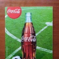 Coleccionismo de Coca-Cola y Pepsi: COCA COLA CUADERNO 2012 PEGATINAS FÚTBOL BARCELONA MADRID SEVILLA ZARAGOZA.... Lote 277261173