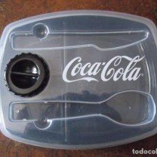 Coleccionismo de Coca-Cola y Pepsi: SANWICHERA COCACOLA CON PORTA SALSA. Lote 277271623