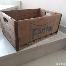 Coleccionismo de Coca-Cola y Pepsi: ANTIGUA CAJA BOTELLINES FANTA. PEPSI COCA COLA. Lote 278419953