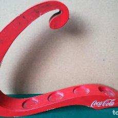 Coleccionismo de Coca-Cola y Pepsi: EXPOSITOR EN MADERA COCA-COLA. Lote 288560393