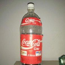 Coleccionismo de Coca-Cola y Pepsi: BOTELLA DE COCA COLA 2 LITROS EXPO 92 SEVILLA OLIMPIADAS BARCELONA AÑO 1992. Lote 290134518