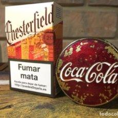 Coleccionismo de Coca-Cola y Pepsi: VINTAGE GRAN PLACA RARA INSIGNIA COCA COLA EN METAL 6 CM.. Lote 297104163
