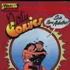Cómics: EL VIBORA: DIRTY COMICS. COMICS PORNO SATIRICOS DE LOS AÑOS 30. Lote 42353171