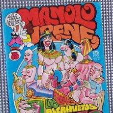 Cómics: MANOLO E IRENENº 35 (COMIC ERÓTICO DE HUMOR). Lote 5098684