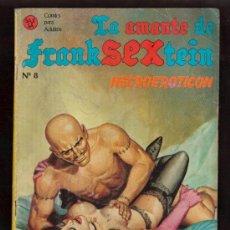Cómics: COMIC PARA ADULTOS- LA AMANTE DE FRAKSEXTEIN Nº 8 MAS COMIC EN MI KIOSCO. Lote 27089035