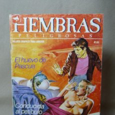 Fumetti: COMIC PARA ADULTOS, HEMBRAS PELIGROSAS, Nº 44, EDICIONES ZINCO. Lote 20282922
