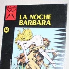 Cómics: COMIC PARA ADULTOS: COLECCION X, Nº16, LA NOCHE BARBARA (MARCELLO). Lote 26536147
